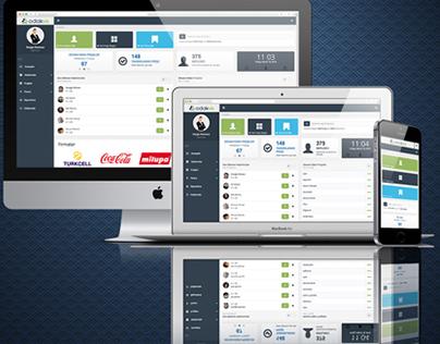 Odaksis Project Managing System / Proje Yönetim Sistemi