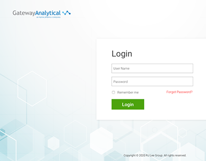 UI Design for Healthcare Web Application