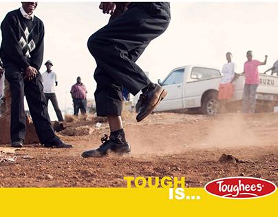 Toughees mock ad