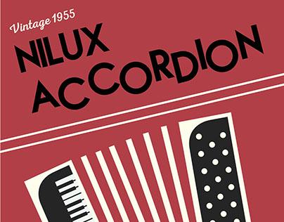 Vintage Accordion Poster 2