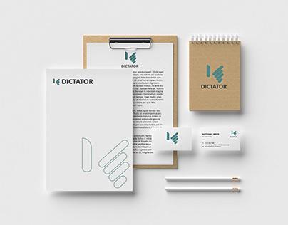 Dictator Logo Design