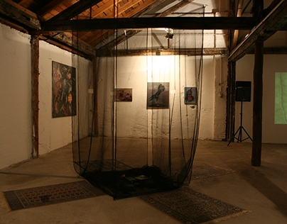 Theremin - interactive sound installation