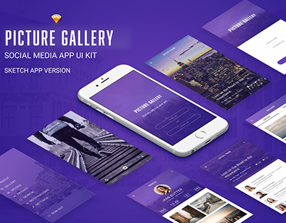 Mobile App - Picture Gallery
