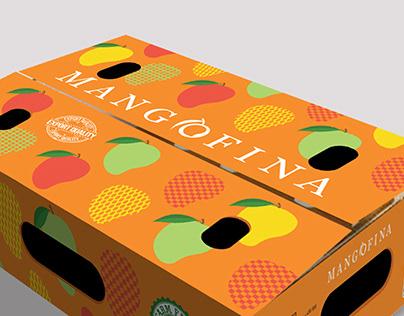 Mangofina Package Design