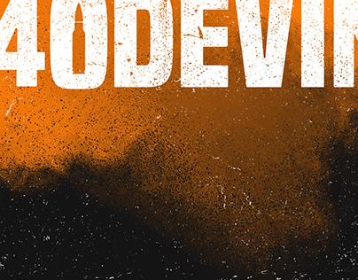 A40DEVIN - Logo design