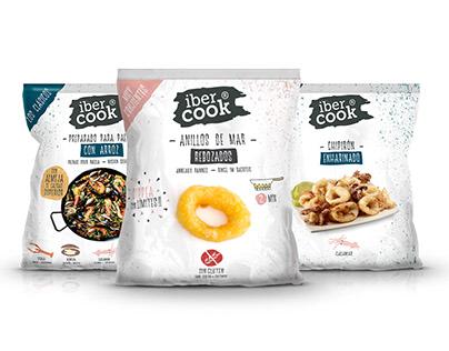 Ibercook: Fun Food | Naming & Packaging