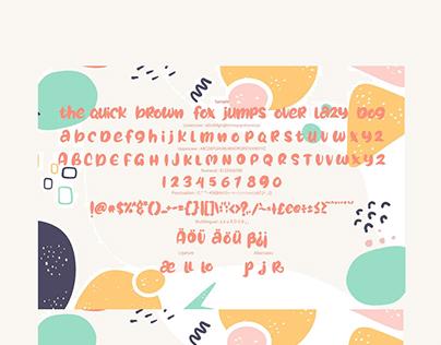 Funy Cute Font