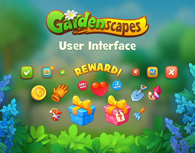 Gardenscapes User Interface