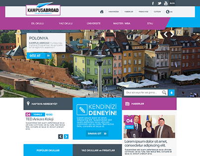 Kampus Abroad Web Site