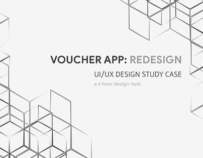 Voucher APP Redesign: UI/UX Study Case