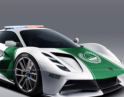 2020 Lotus Evija Police Dubai