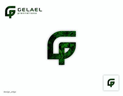 G logo with shape of leaf