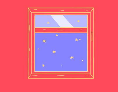 Portes et Fenêtres Illustration/Animation