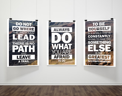 Proverb Posters
