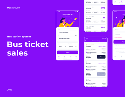 Bus Ticket Sales app