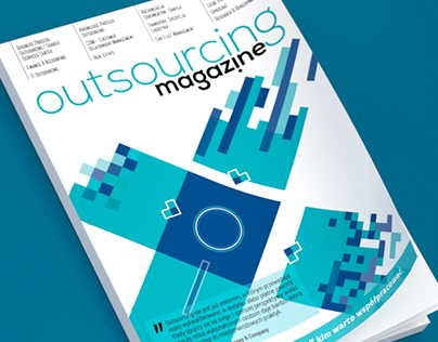 Outsourcing Magazine covers