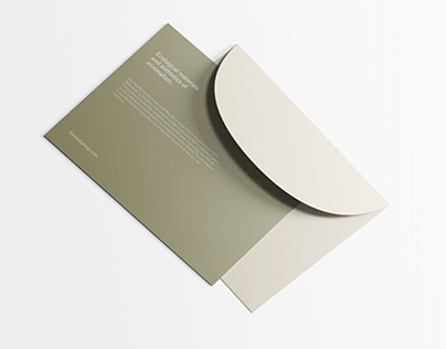 Forest of ginkgo – Visual identity