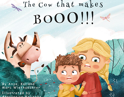 The Cow that makes BOOO!!!