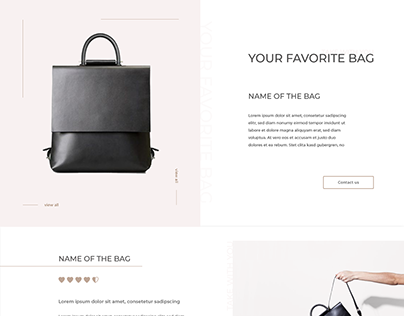 Bag Shop Template