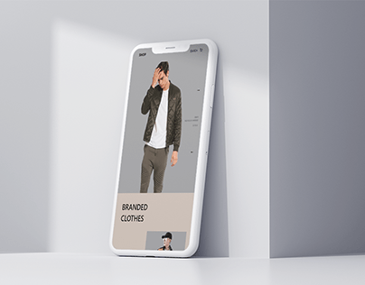 Fashion App Ui
