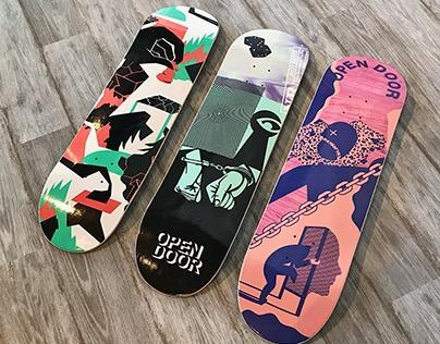 OPEN DOOR Skateboards