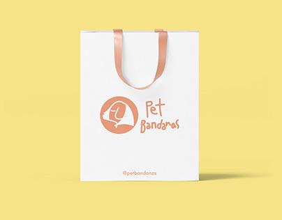 pet bandanas - branding