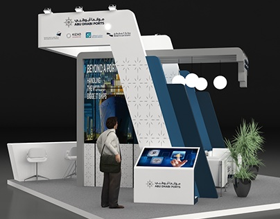 AD ports exhibition stand