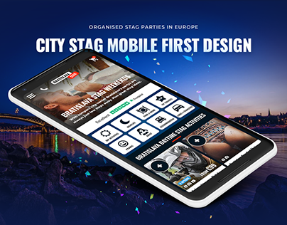 Mobile First Design & Website design for City Stag