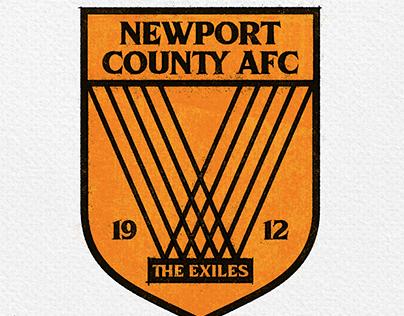 A retro retake for Newport County