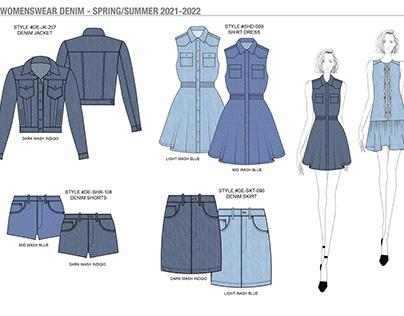Womenswear Denim - Spring/Summer 2021-2022