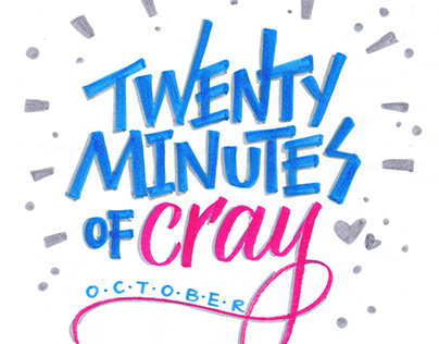 Crayola Calligraphy A-Z