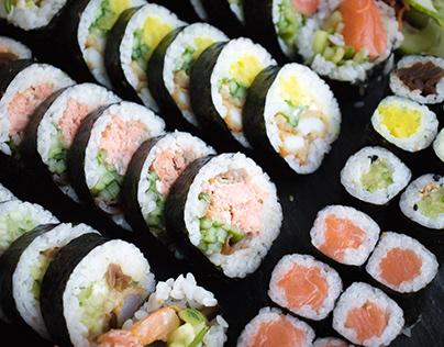 Food photography- Sushi