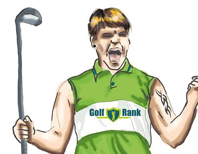GolfRank – Kommunikationskonzept