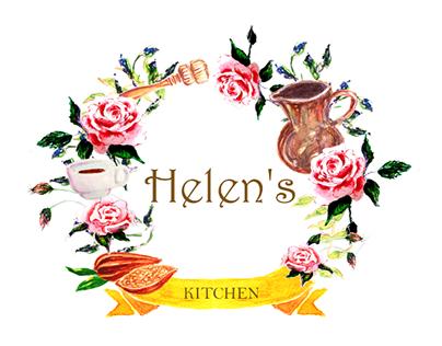 Logo for Helen's Kitchen