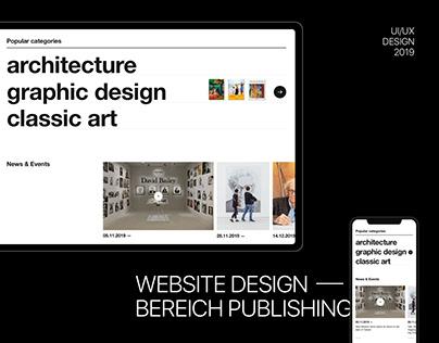Bereich Publishing Website