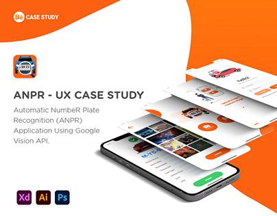 ANPR - UI / UX Case Study