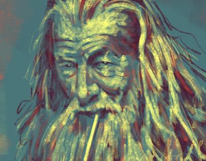LOTR/Hobbit portraits (Digital)