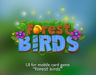"GUI ""Forest birds"""