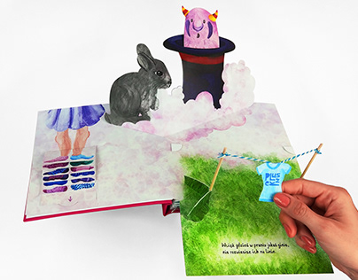 Pop-up book: The Mysterious Story of Disappearing Socks