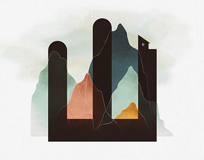 Mountain 【 山 】