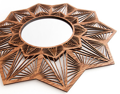 Penta Sun - Laser Cut Mirror
