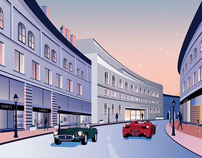 THE DRIVE - EDITORIAL ILLUSTRATIONS