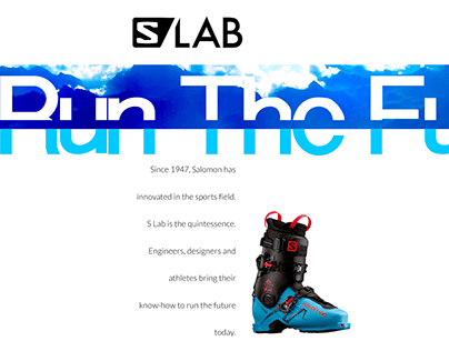 SALOMON / S LAB : RUN THE FUTURE