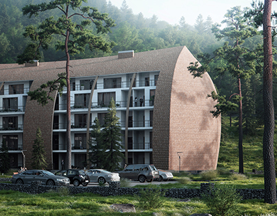 Residential complex in Georgia