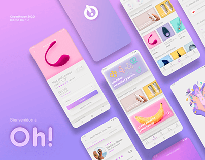Oh! / Android App / UX UI