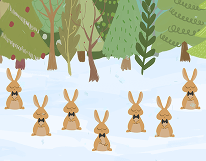 Christmas Buns | Animated Christmas eCard for Hallmark