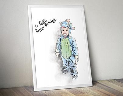 Illustration - Commande pour cadeau d'anniversaire