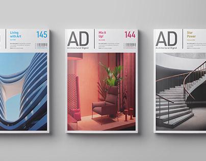 Magazine Redesign – Architectural Digest