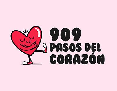 909 Pasos del Corazón
