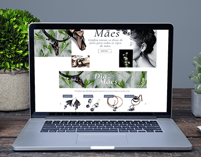 Mothers's day e-commerce and social media store